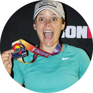 Tempo Endurance athlete wins ironman medal