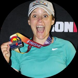 Tempo Endurance athlete wins ironman medal