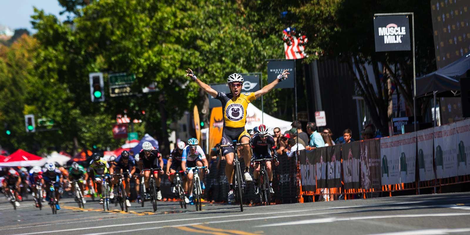 Jay Parkhill wins San Rafael Criterium